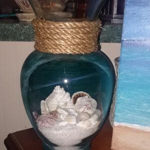 """Vase - """"window to the beach"""""""